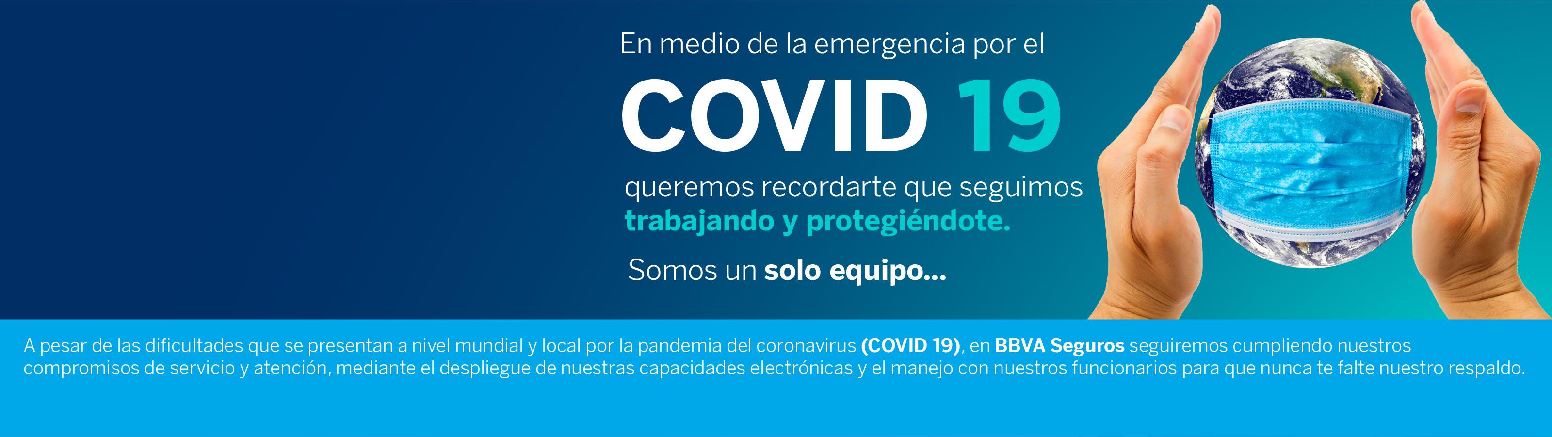 Seguimos contigo protegiéndote durante esta pandemia. Ante cualquier solicitud o requerimiento puedes comunicarte con nuestras líneas de atención al cliente